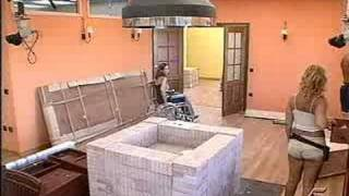 Reality show with women in a wheelchair