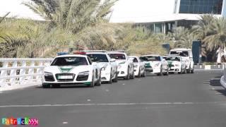 getlinkyoutube.com-EPIC Dubai Police Supercar fleet at Burj Al Arab Hotel
