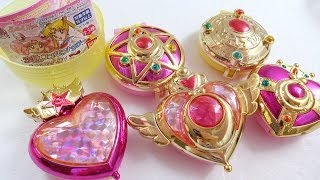 getlinkyoutube.com-★ セーラームーン ★ 変身コンパクトミラー ガチャガチャ 全種類出るまで回してきました! Pretty Guardian Sailor Moon