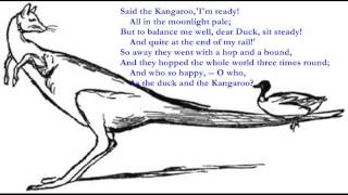 The Duck and the Kangaroo [LEAR poem set to music]