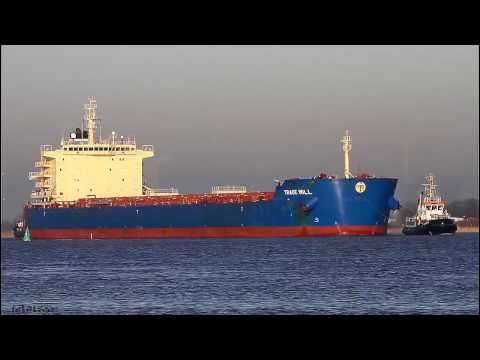 Click to view video TRADE WILL - IMO 9528562 - Germany - Weser - Brake Unterweser
