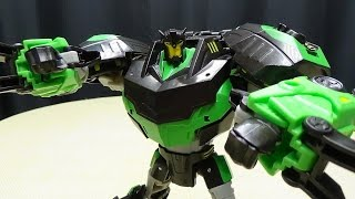 getlinkyoutube.com-Takara Transformers Adventures Voyager BATTLE GRIMLOCK: EmGo's Transformers Reviews N' Stuff