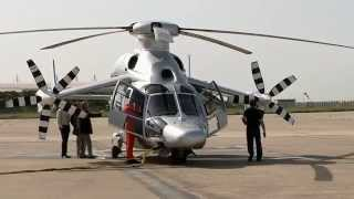 getlinkyoutube.com-Eurocopter X3 hybrid helicopter new speed record at 263 knots 487 kmhr French aviation industry