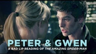 "getlinkyoutube.com-""PETER & GWEN"" — A Bad Lip Reading of The Amazing Spider-Man"