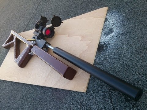 Homemade airgun 自制气枪