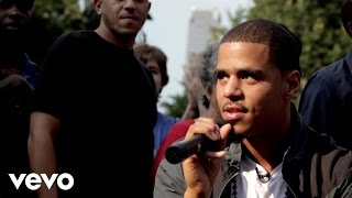 J. Cole - Can't Get Enough (Live @ Union Square, NYC)