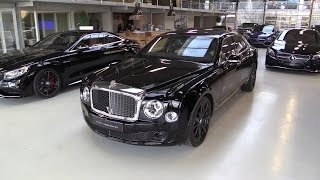 getlinkyoutube.com-Bentley Mulsanne Blue Train 2016 Start Up, Exhaust Sound, In Depth Review Interior Exterior