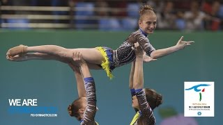 HIGHLIGHTS - 2016 Acrobatic Worlds, Putian (CHN) – Women's Groups - We are Gymnastics!