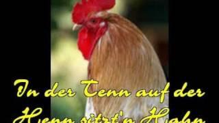 getlinkyoutube.com-In der Tenn auf der Henn. sitzt'n Hahn (Cover)