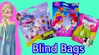 getlinkyoutube.com-Disney Queen Elsa Frozen Color Changer Blind Bags Littlest Pet Shop Animal Rescue Hospital Orbeez