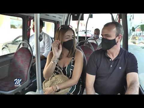 Recorrido de la segunda línea del bus urbano