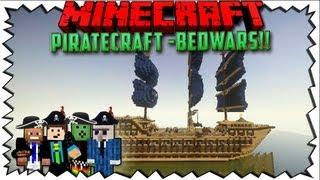 getlinkyoutube.com-Minecraft - PIRATECRAFT Bedwars mit Cam + GommeHD, ViceVice & BarnLP
