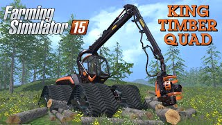 getlinkyoutube.com-Farming Simulator 2015 mod KING TIMBER QUAD
