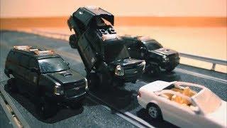 getlinkyoutube.com-Transformers DOTM stop motion (part4)(Spanish) (Highway battle)