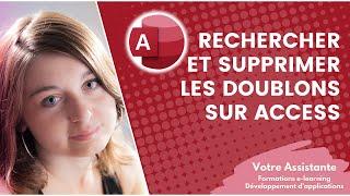 getlinkyoutube.com-Rechercher et supprimer les doublons sur Access