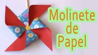 getlinkyoutube.com-Manualidades: Molinillo de papel - Manualidades para todos