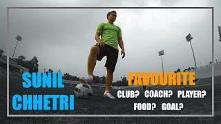 1-on-1 with Sunil Chhetri