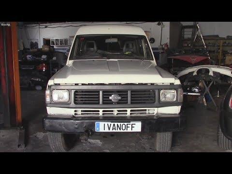 Ремонт автомобиля Nissan Patrol 1992 RD28 Замена прокладки ГБЦ Часть первая