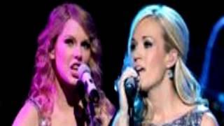 getlinkyoutube.com-Carrie Underwood Good Girl Duet With Taylor Swift Safe And Sound VMA ACM Awards 2012 Lyrics HD