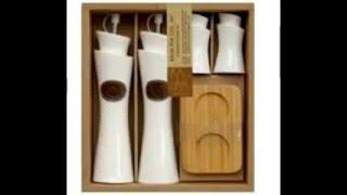 getlinkyoutube.com-أنواع  أطقم توابل مودرن للمطبخ الحديث من الصينى و الزجاج و الخشب