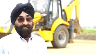 Mahindra EarthMaster VX | Backhoe Loader | Customer Testimony | Mr. Owenkar Singh