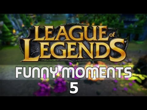 League of Legends 5v5 Aram With Friends - Poro? Whats that?