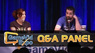 getlinkyoutube.com-Gassy & Lolrenaynay's Q&A Panel (Game Vid Expo 2014)