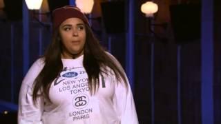 getlinkyoutube.com-Jessy Larsson rör Molly Sandén till tårar - Idol Sverige (TV4)