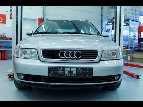 Audi A4: Hvordan bytte ABS sensor foran - 1995 til 2001 mod. (B5)