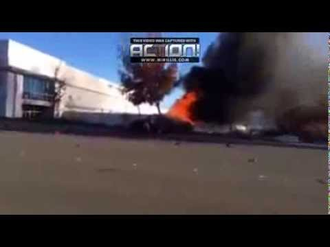 Video de Muerte de Paul Walker (Brian O'conner)  El Choque!!
