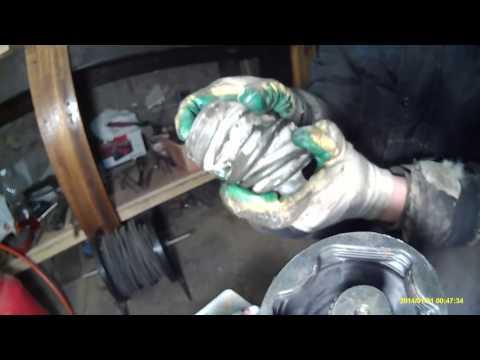 Замена внутреннего пыльника ШРУСа Nissan Primera P12 QR20DE