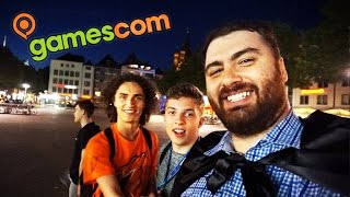 GamesCom 2015 | YOUTUBE GAMING Party!! Hanging Out With Epic Youtubers in Germany! HIKE I.R.L. Vlog