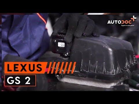 ... pakeisti oro srauto matuokle LEXUS GS 2 PAMOKA | AUTODOC