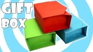 getlinkyoutube.com-DIY: Paper Origami Gift Box with Lid Instructions