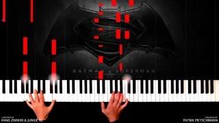 getlinkyoutube.com-Hans Zimmer & Junkie XL - Batman v Superman - Beautiful Lie (Piano Version) + Sheet Music