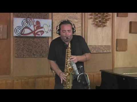 &quot;SAVING ALL MY LOVE FOR YOU&quot;SAX VERSION BY SANDRO SCUOPPO LIVE IN STUDIO RECORDING