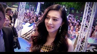 getlinkyoutube.com-Fan Bingbing at the 'X-Men: Days Of Future Past' Singapore premiere