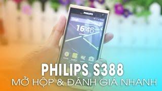 getlinkyoutube.com-Philips S388 - Màn hình đẹp, Giá rẻ, thiết kế tinh tế, cấu hình khá