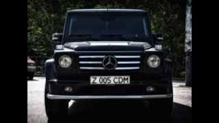 getlinkyoutube.com-VIP кортежи в Астане на Мерседесах G55 AMG. www.luxcar.kz