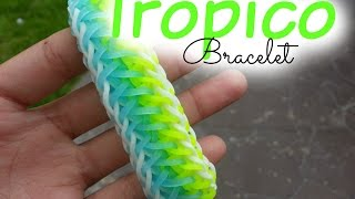getlinkyoutube.com-Tropico Bracelet Loom ~ How To