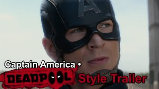 getlinkyoutube.com-Captain America • Deadpool Style Trailer