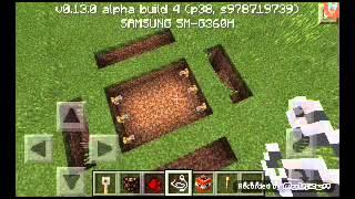 getlinkyoutube.com-สอนสร้างกับดัก Minecraft pe 0.13.0