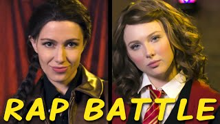 getlinkyoutube.com-KATNISS vs HERMIONE: Princess Rap Battle (Molly C. Quinn & Whitney Avalon)
