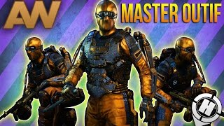 "getlinkyoutube.com-Call of Duty: Advanced Warfare ""WEAPONS MASTER Outfit"" Showcase - Gold & Diamond Suit (COD AW)"