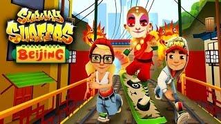 getlinkyoutube.com-Subway Surfers: Beijing - Sony Xperia Z2 Gameplay