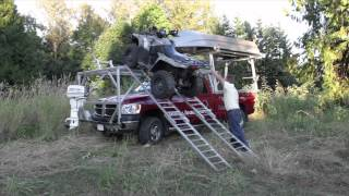 getlinkyoutube.com-Load It - Over the Cab ATV/UTV Loading System