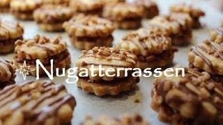 getlinkyoutube.com-Plätzchen backen : ♥♥♥ Rezept Nugatterrassen ♥♥♥