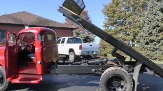 getlinkyoutube.com-Job Rated Dodge 1.5 ton flatbed truck