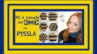 getlinkyoutube.com-MI E' VENUTA UN'IKEA CON I PYSSLA: Come fare dei sottobicchieri con i Pyssla! (Arte per Te)