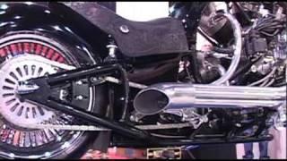 getlinkyoutube.com-Mahina with radial engine 200 mph chopper